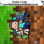 Bisnaga Brigadeiro 30gr Minecraft