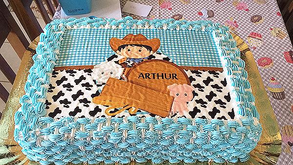 Bolo Festa Fazendinha do Arthur 2