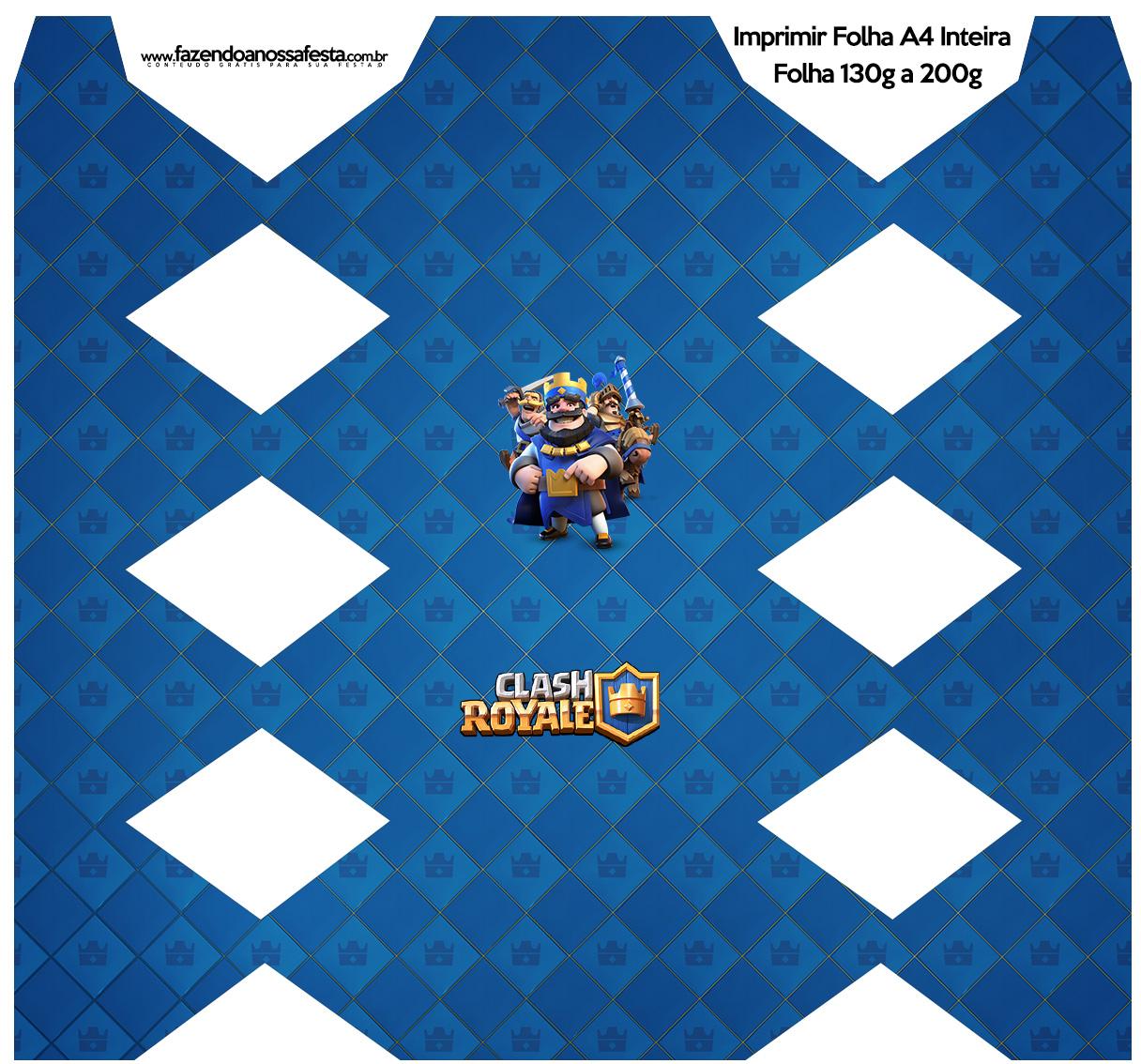 Caixa Bala Clash Royale