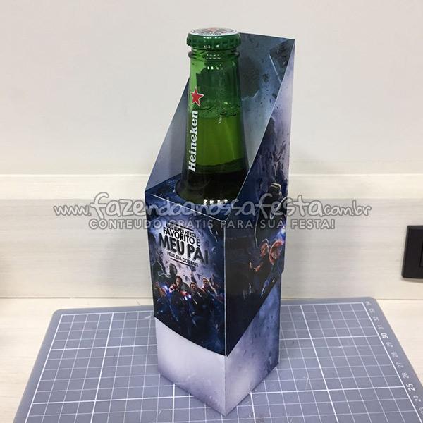 Caixa Cerveja Refrigerante Long Neck para Dia dos Pais Impresso 2