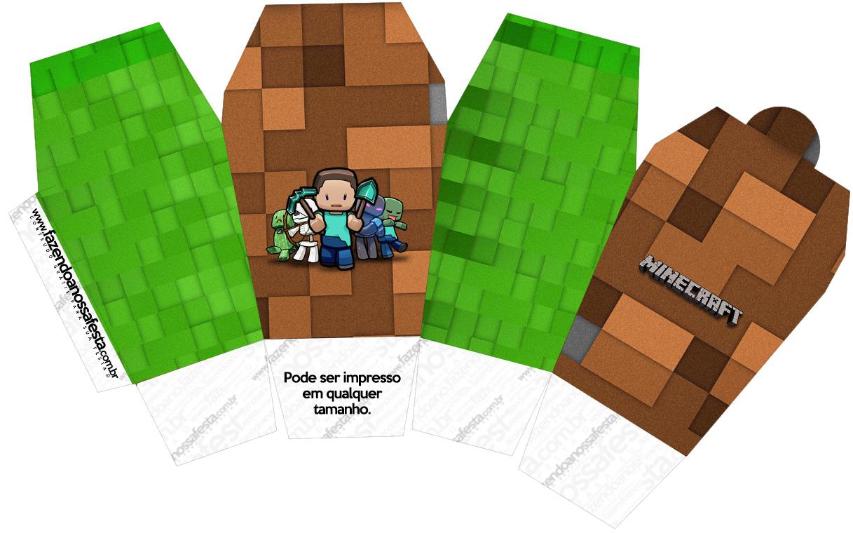 Caixa China in Box Minecraft