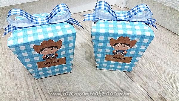 Caixa China in box Fazendinha do Arthur