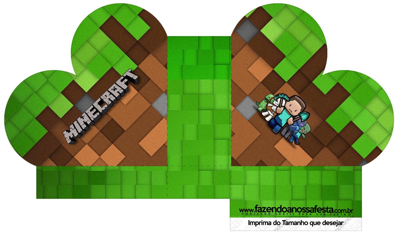 Caixa Coração Minecraft