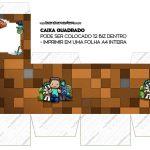 Caixa Cubo ou Bis Minecraft