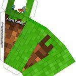 Caixa Fatia Minecraft