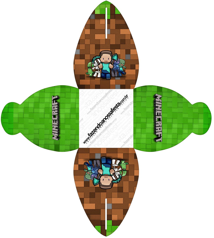 Caixa Minecraft