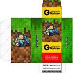 Caixa Remédio Minecraft