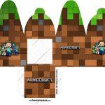 Caixa com Foto Minecraft