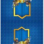 Cartão Agradecimento de mesa Clash Royale