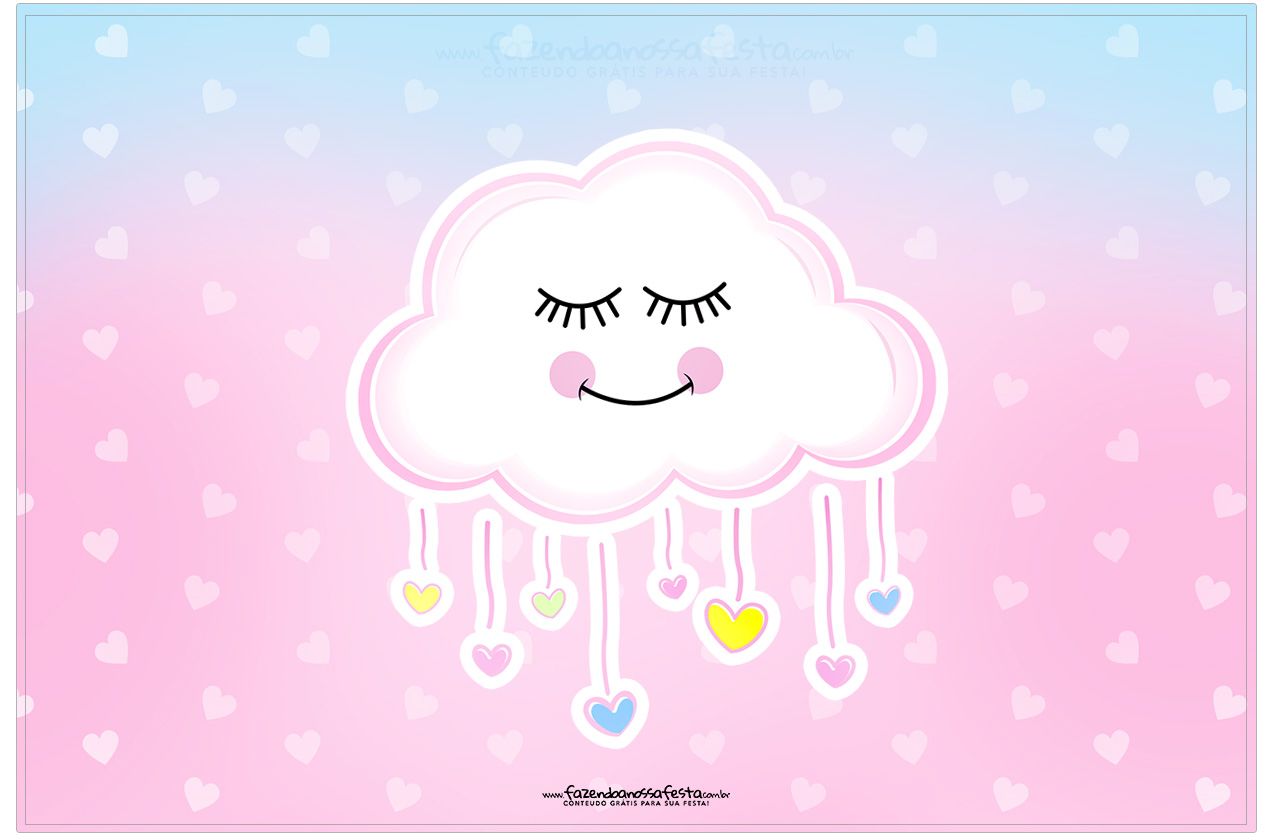 Cartão Chuva de Amor