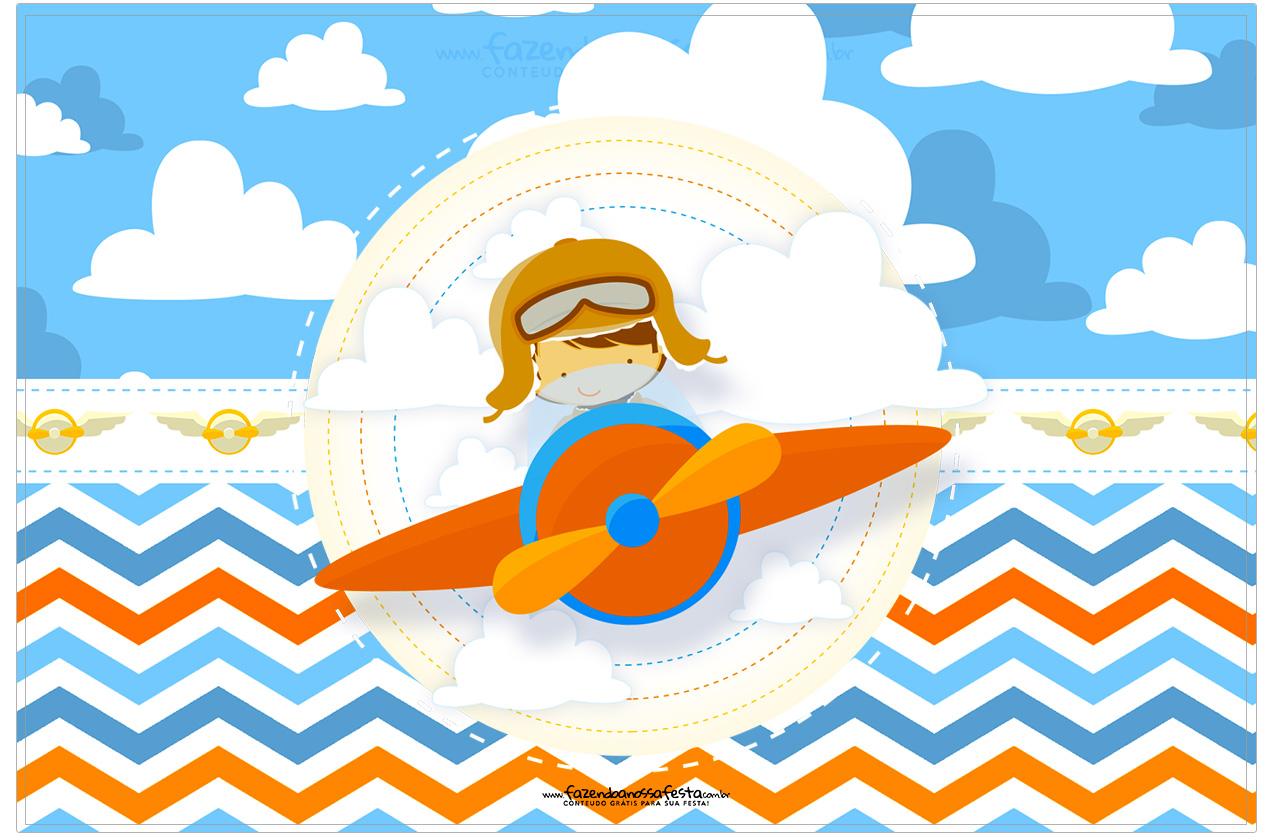 Cartao Menino Aviador