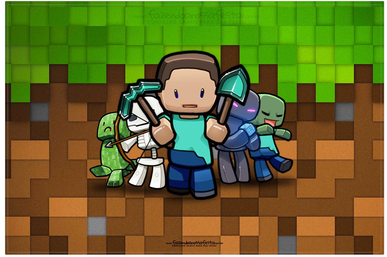 Cartão Minecraft