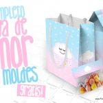 Chuva de Amor Kit Festa Grátis para Imprimir em Casa
