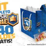 Clash Royale Kit Festa Grátis para Imprimir em Casa