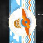 Convite Chalkboard Menino Aviador 7