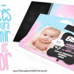 Convite Chuva de Amor Grátis para Imprimir em Casa