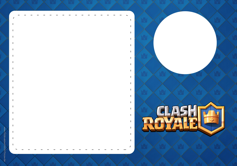Convite Clash Royale 4