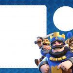 Convite Clash Royale 5