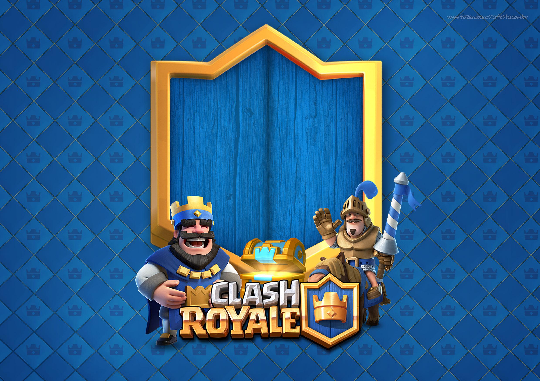 Convite Clash Royale