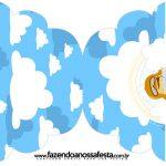 Convite Cupcake Menino Aviador