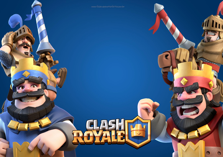 Convite Gratis Clash Royale