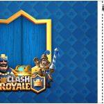 Convite Ingresso Clash Royale