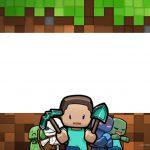 Convite Minecraft 6