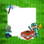 Convite Minecraft 7