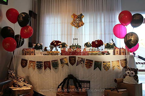 Decoracao Festa Harry Potter da Leticia