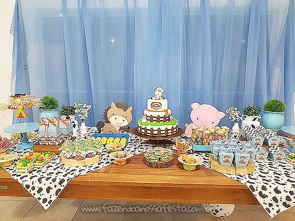 Decoração Festa Fazendinha do Arthur 2