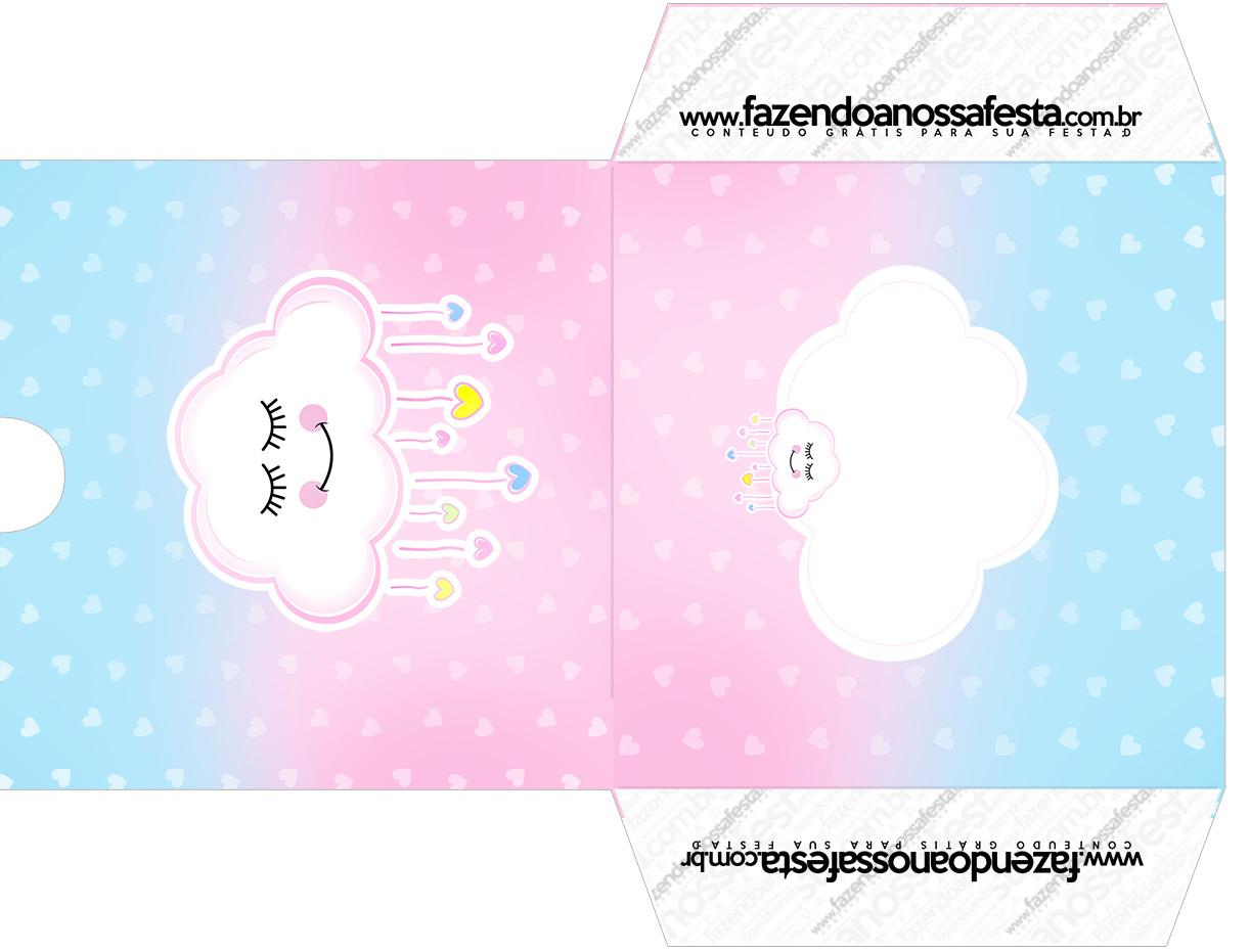 Envelope CD DVD Chuva de Amor
