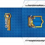 Envelope CD DVD Clash Royale