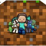 Envelope Convite Minecraft