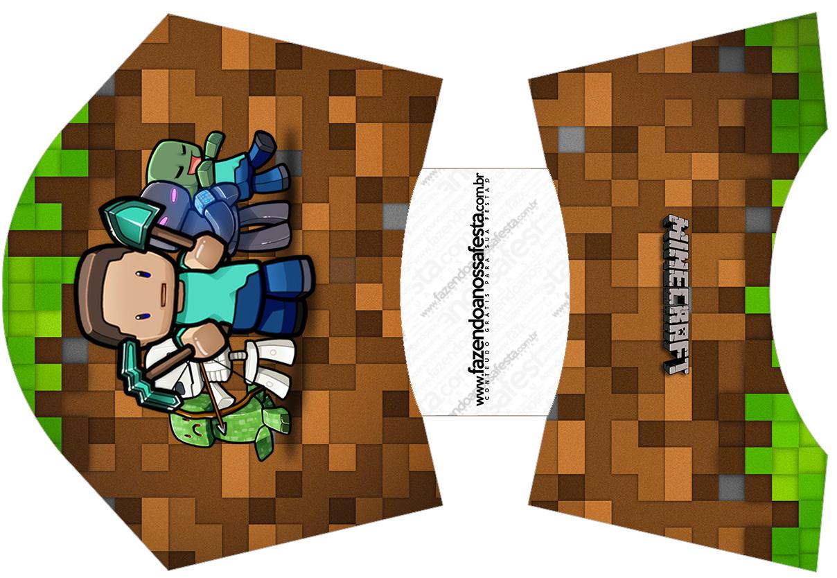 Envelope Fritas Minecraft
