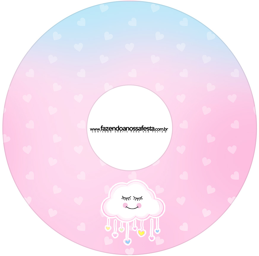 Etiqueta CD DVD Chuva de Amor