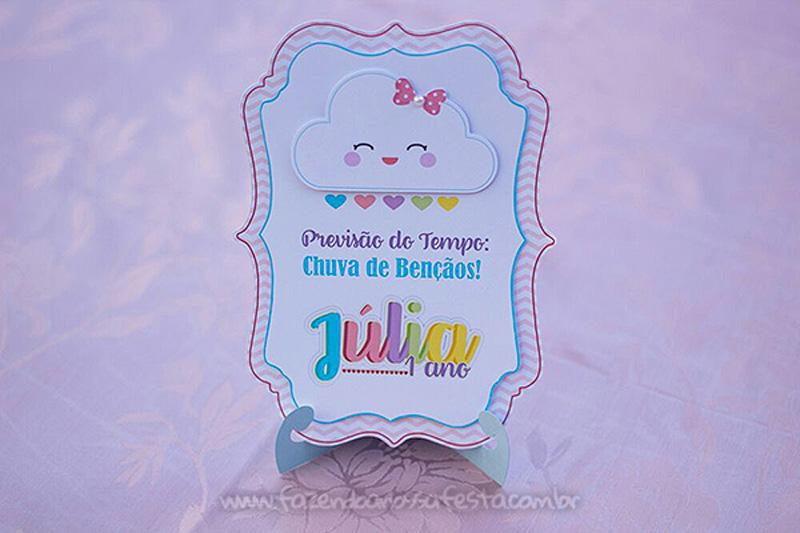 Festa Infantil Chuva de Bênçãos da Julia 6