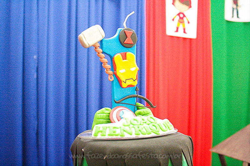 Festa Infantil Vingadores Cute do Joao Henrique 5