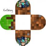 Forminha Docinho 3D Minecraft