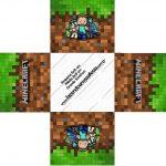 Forminha docinho quadrada Minecraft