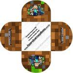 Forminhas Docinhos Minecraft