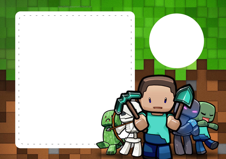 Invitations Minecraft