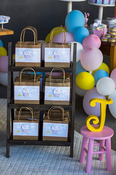 Lembrancinha Festa Infantil Chuva de Bênçãos da Julia