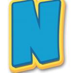 Letras Patrulha Canina Paw Patrol Letters N