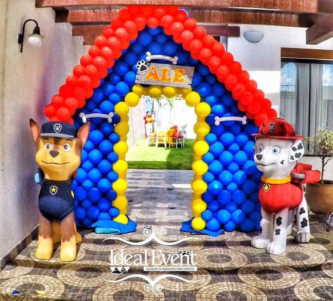 Créditos: Litzy Camacho Ideias para Festa Patrulha Canina