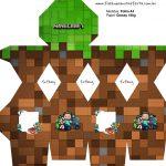 Meia Caixa Bala Minecraft