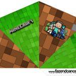 Cone Guloseimas 4 lados Minecraft