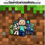 Mini Pastilha Docile Minecraft