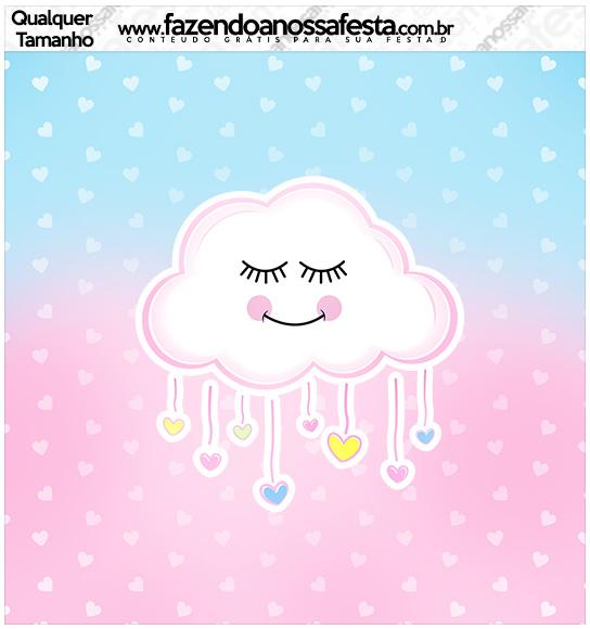 Molde Quadrado Chuva de Amor
