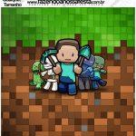 Molde Quadrado Minecraft