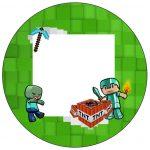 Molde para Latinha Minecraft
